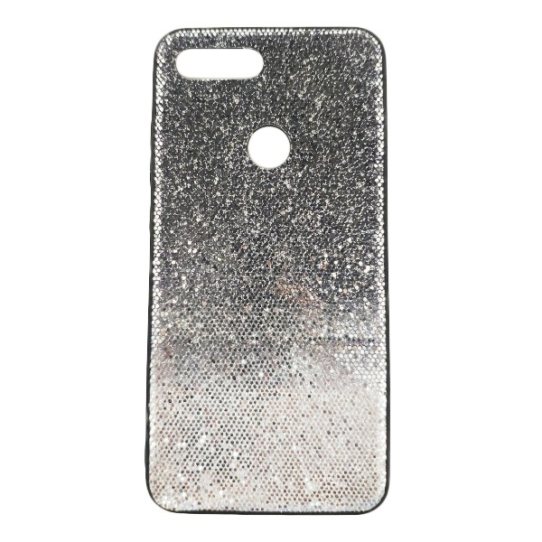 Чехол бампер Quicksand для Xiaomi Mi8 Lite (Silver) 1