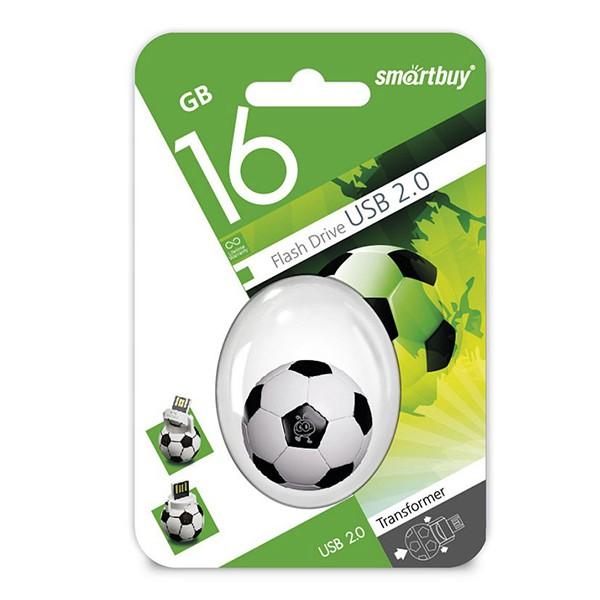 Флеш-накопитель Smart Buy 16GB Wild series (Football)