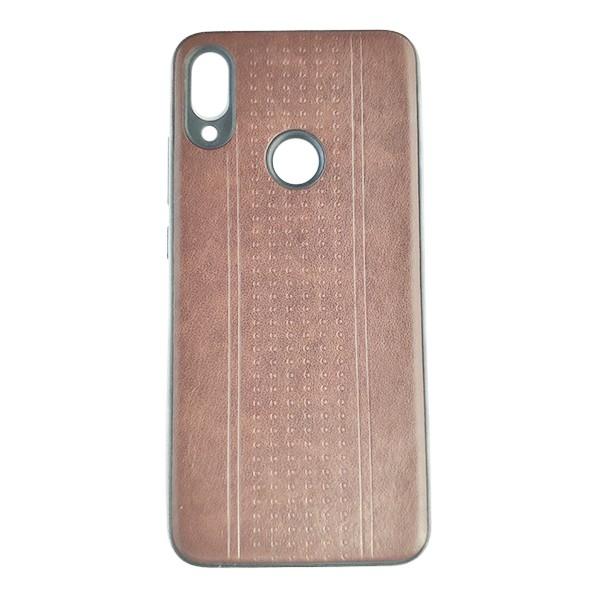 Чехол накладка Pattern Leather для Xiaomi Redmi 7 (Dark Brown)