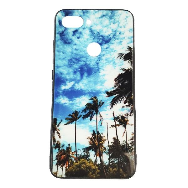 Чехол бампер Monaco Case для Xiaomi Mi8 Lite (Palms) 1