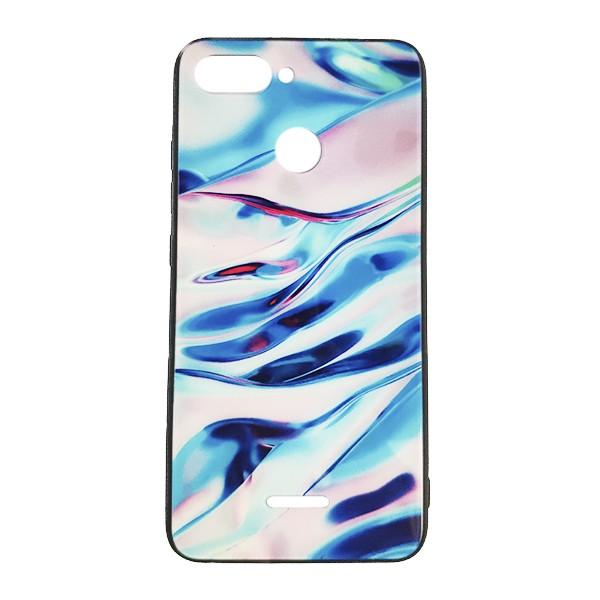Чехол бампер Monaco Case для Xiaomi Redmi 6 (Blue Marble) 1