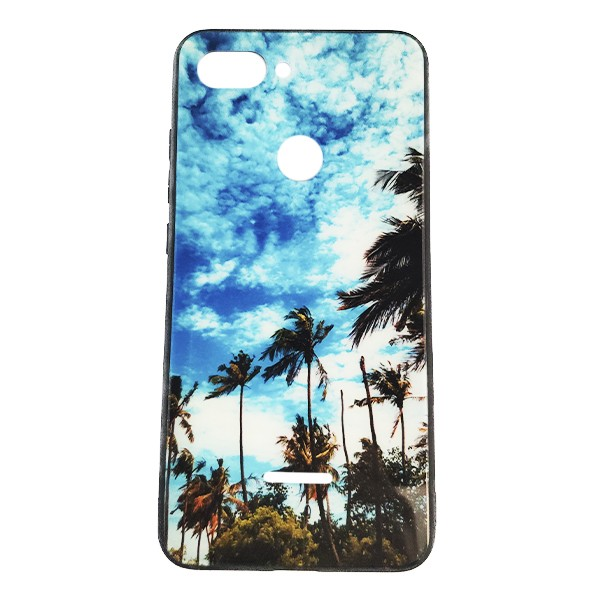 Чехол бампер Monaco Case для Xiaomi  Redmi 6 (Palms)