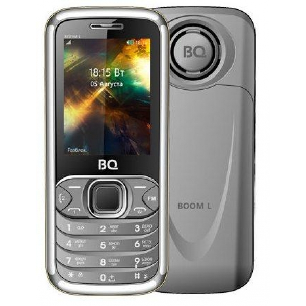 Мобильный телефон BQ BQM-2427 BOOM L (grey)