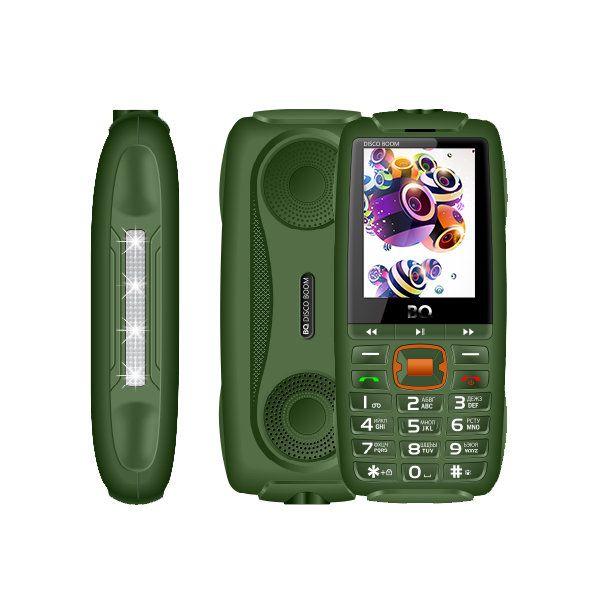 Мобильный телефон BQ BQM-2825 Disco Boom (Bark/Green) 1