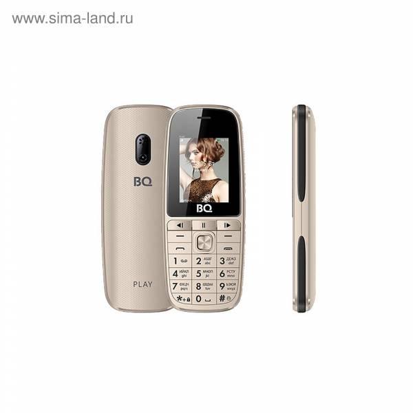 Мобильный телефон BQ BQM-1841 Play (gray)