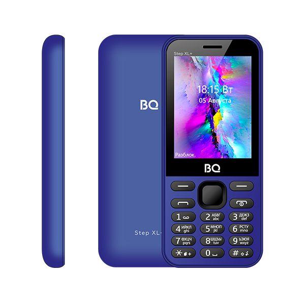 Мобильный телефон BQ BQM-2820 Step XL+ Black/Blue 1