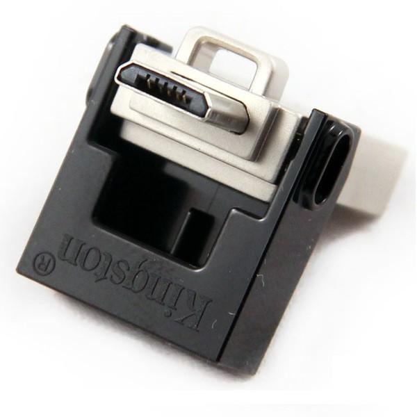 Флеш-накопитель Kingston 32GB USB 3.0 Data Traveler MicroDuo OTG (USB - MicroUSB) 1
