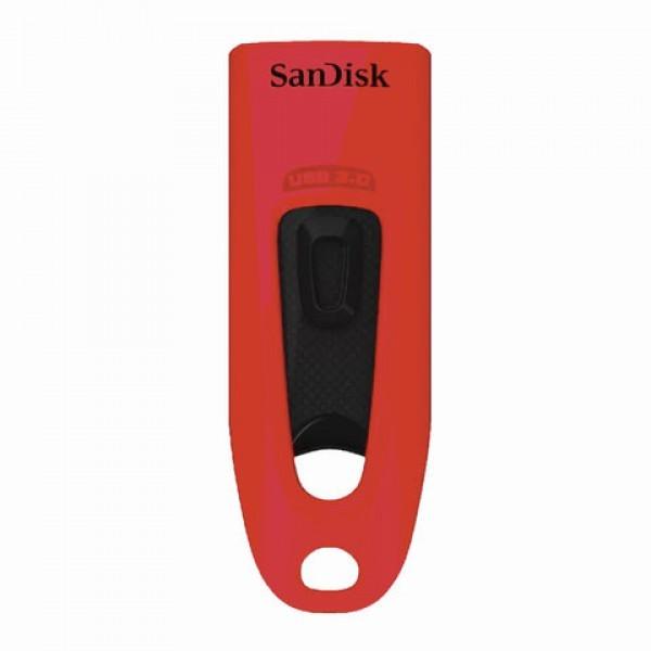 Флеш-накопитель SanDisk 64GB USB 3.0 Ultra (Red) 1