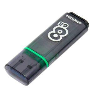 Флеш-накопитель Smart Buy 8GB Glossy (Gray)