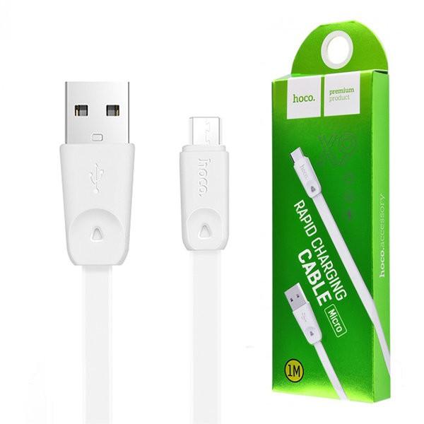 Кабель HOCO X9 High Speed Micro-USB (L=1M), White