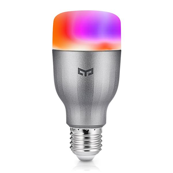 Лампочка Xiaomi Yeelight Smart LED Bulb Color E27 9W 6500K