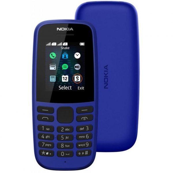 Мобильный телефон Nokia 105 SS 2019 Blue