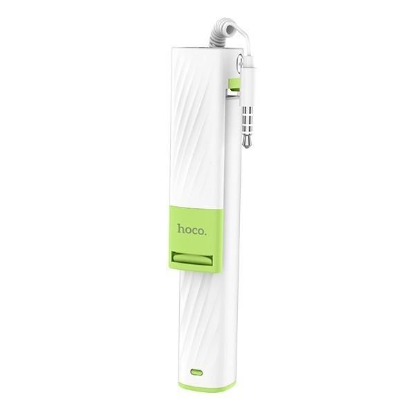 Монопод для селфи Hoco Dainty mini wired K7 White