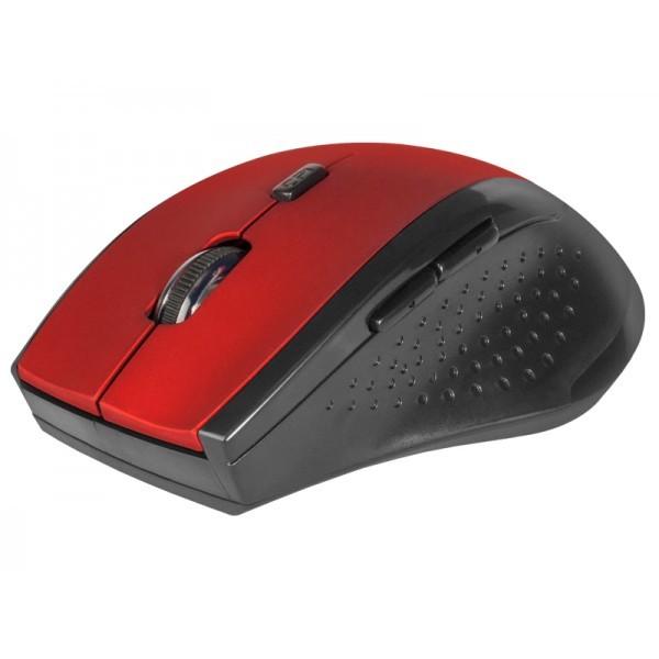Мышь беспроводная DEFENDER Accura MM-365 (Red - Black)