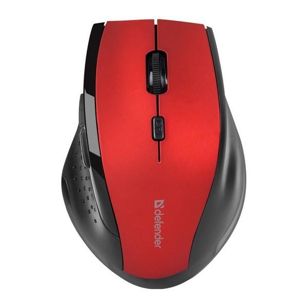 Мышь беспроводная DEFENDER Accura MM-665 (Red) 1
