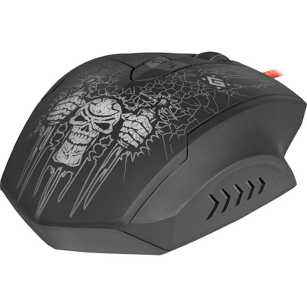 Мышь проводная DEFENDER Doom Fighter GM-260L (black)