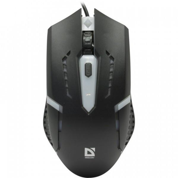 Мышь проводная DEFENDER Flash MB-600L (black) 1