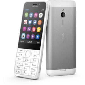 Мобильный телефон Nokia 230 DS Silver White