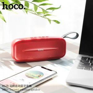 Портативная колонка HOCO BS28 Torrent wireless Red