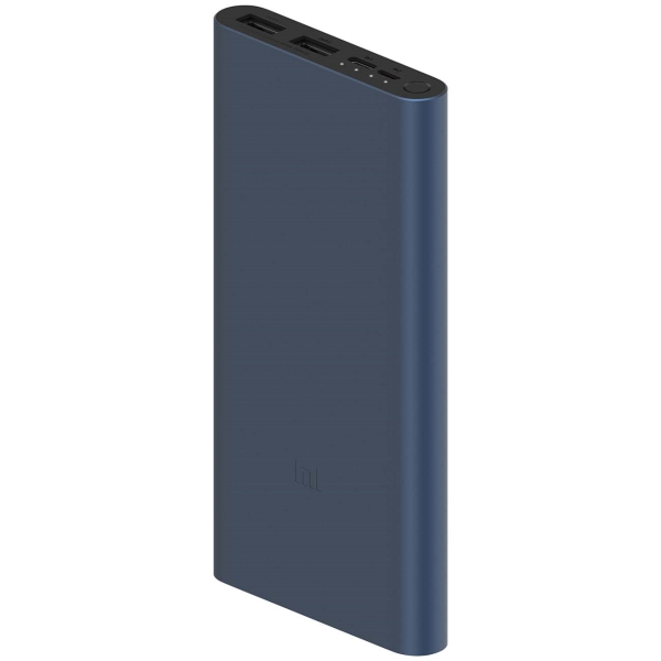 Внешний аккумулятор Xiaomi Mi Power Bank 3 10000 mAh Black (PLM13ZM)