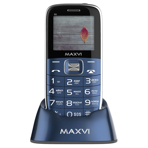 Мобильный телефон MAXVI B6 Marengo 1