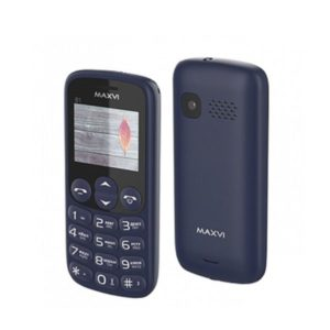 Мобильный телефон MAXVI B1 (blue)