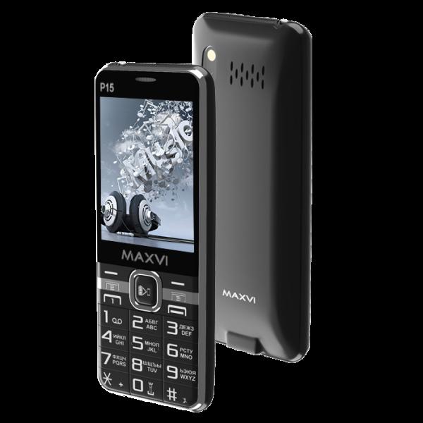 Мобильный телефон MAXVI P15 (black) 1