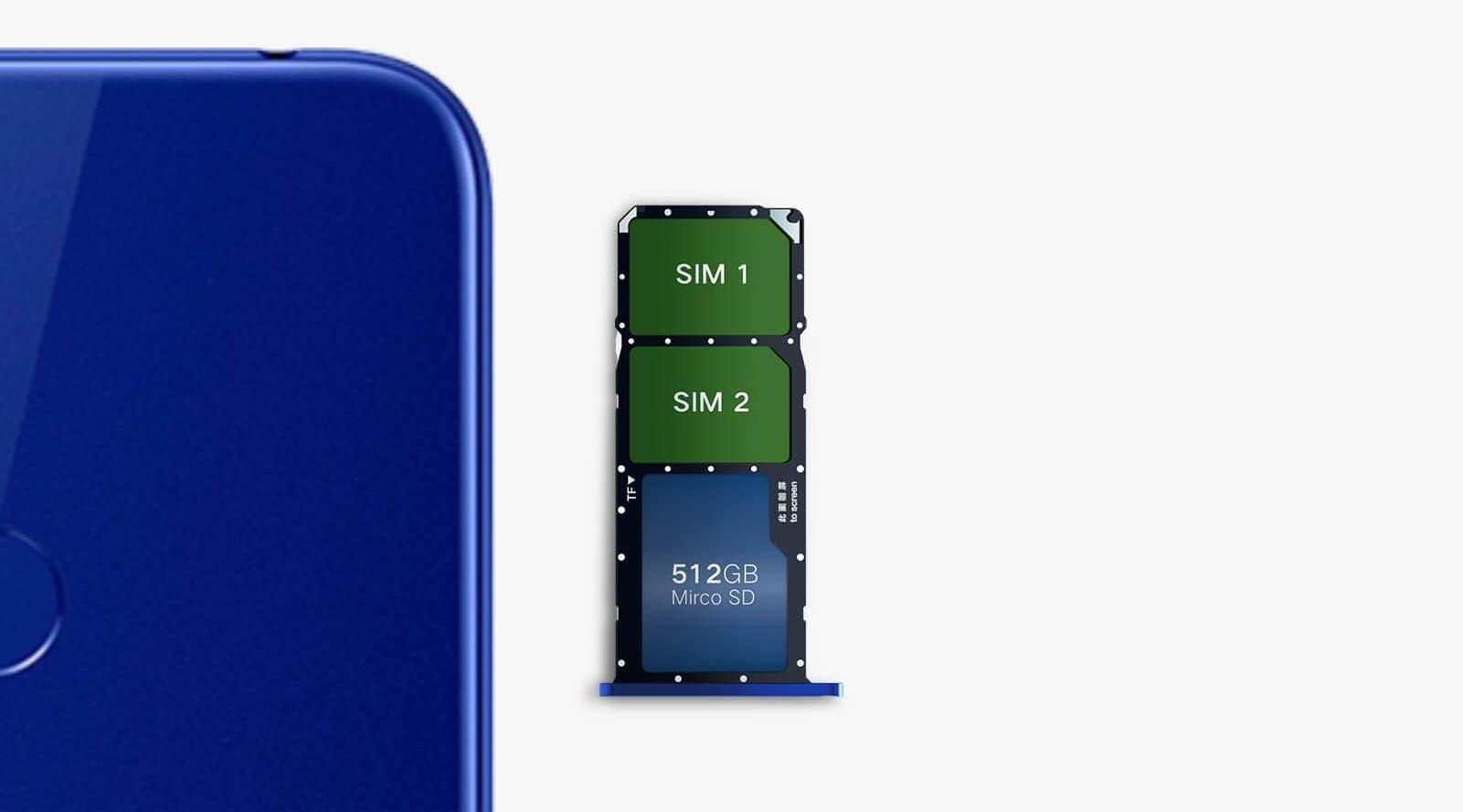 Смартфон Honor 8A 9