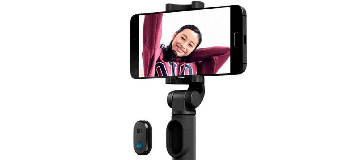 Монопод-трипод Xiaomi Mi Selfie Stick Tripod Black (FBA4053CN) 1