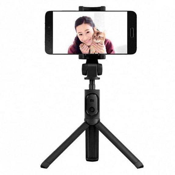 Монопод-трипод Xiaomi Mi Selfie Stick Tripod Black (FBA4053CN) 2