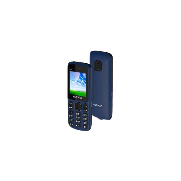 Мобильный телефон MAXVI C22 (marengo-black)