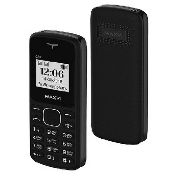 Мобильный телефон MAXVI C23 (black) 1