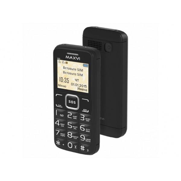 Мобильный телефон MAXVI B2 (black)