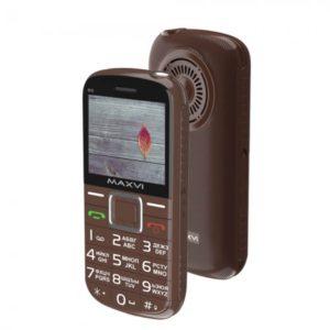 Мобильный телефон MAXVI B5 (Brown)