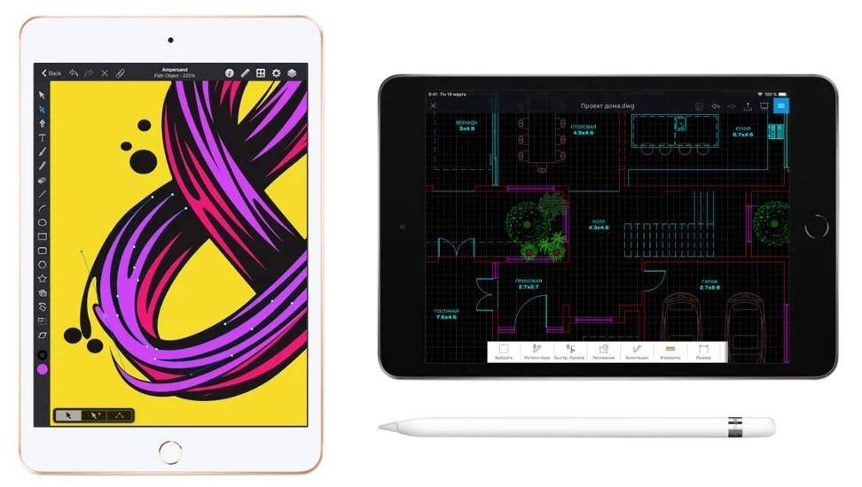 iPad mini 5 Wi-Fi + Cellular 256GB Space Gray (MUXM2) 5