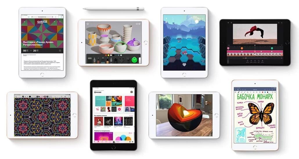 iPad mini 5 Wi-Fi + Cellular 256GB Space Gray (MUXM2) 10