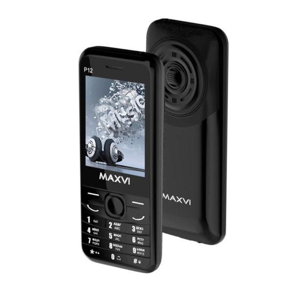 Мобильный телефон MAXVI P12 (black)