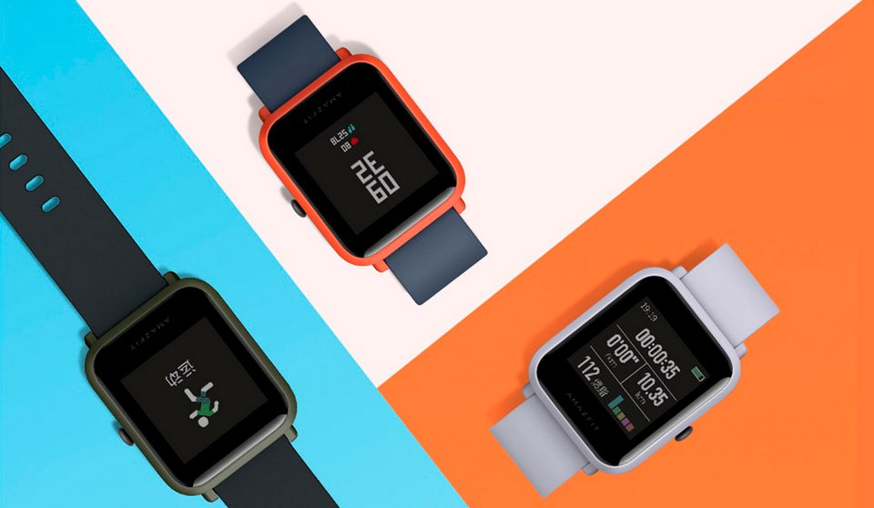 Умные часы Xiaomi Huami Amazfit Bip Gray (International Version) 2