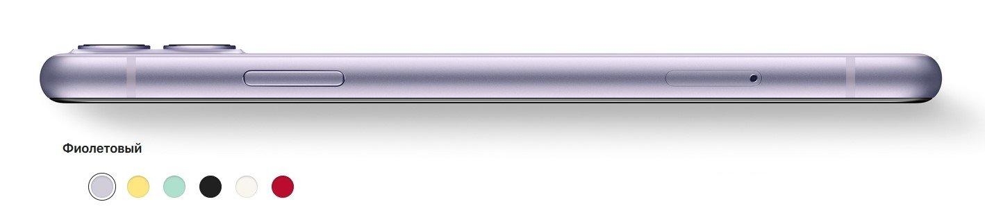 Фото Смартфон Apple iPhone 11 64Gb Black - 2