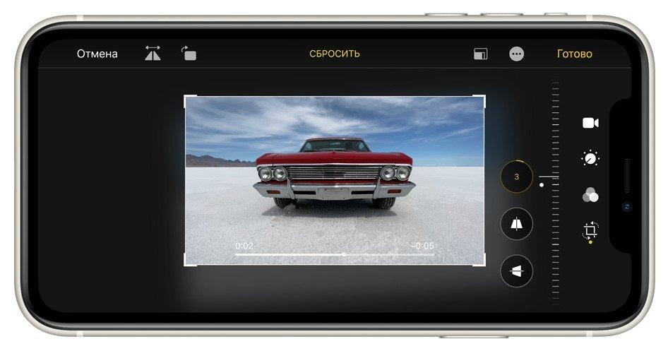 Фото Смартфон Apple iPhone 11 64Gb Black - 9