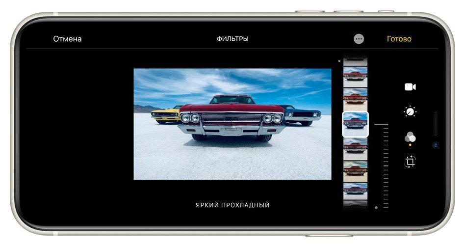 Фото Смартфон Apple iPhone 11 64Gb Black - 10