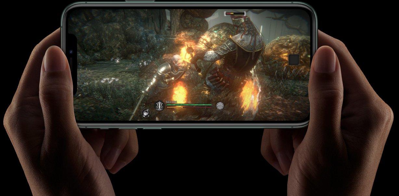 Фото Смартфон Apple iPhone 11 Pro 64Gb Gold - 19