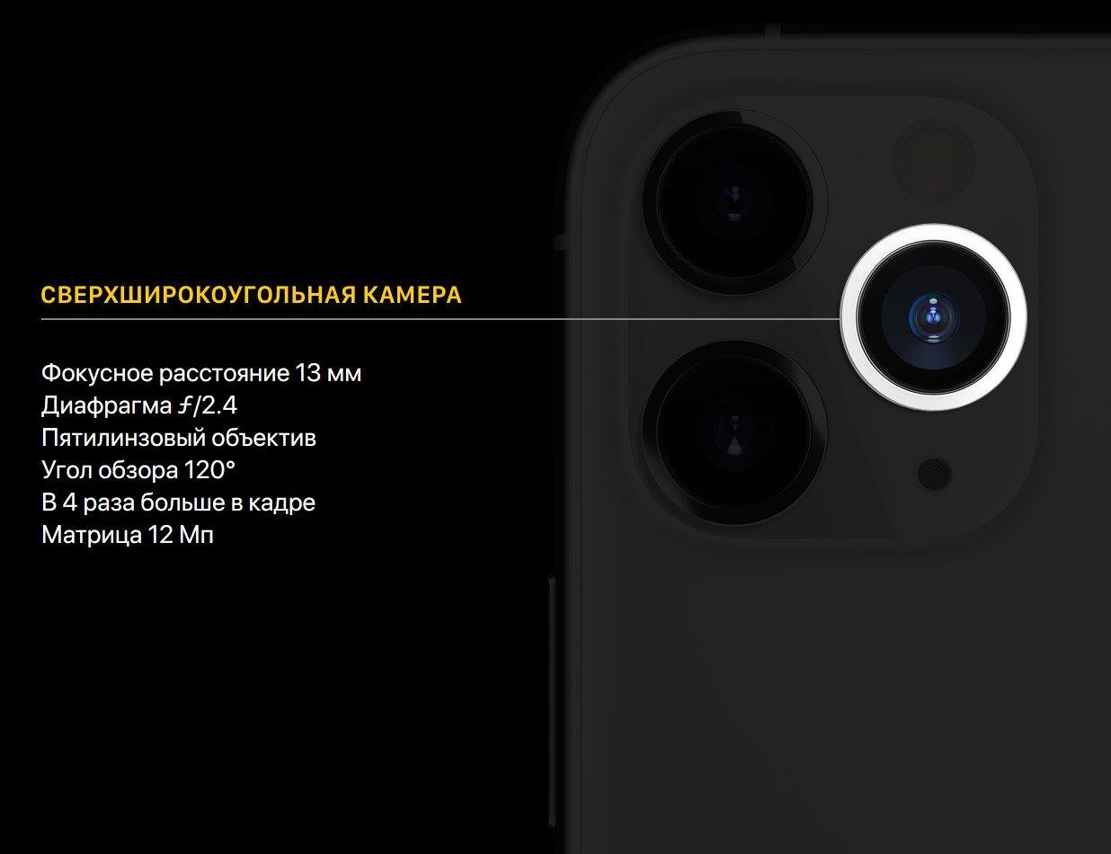 Фото Смартфон Apple iPhone 11 Pro 64Gb Gold - 4