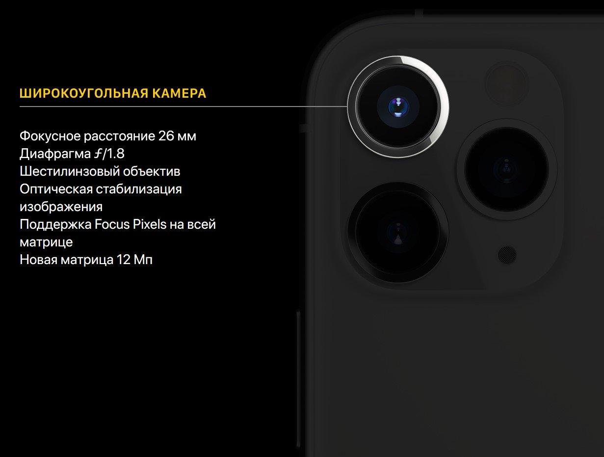 Фото Смартфон Apple iPhone 11 Pro 64Gb Gold - 5