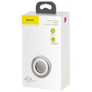 Автомобильный ароматизатор Baseus Circle SUXUN-QQ01 Black