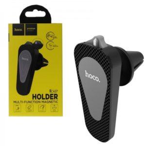 Автомобильный держатель HOCO CA37 Air outlet multi-function Black