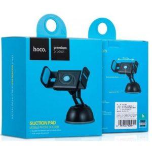 Автомобильный держатель Hoco CPH17 Semi-Automatic Suction Pad Mobile Holder (Blue)