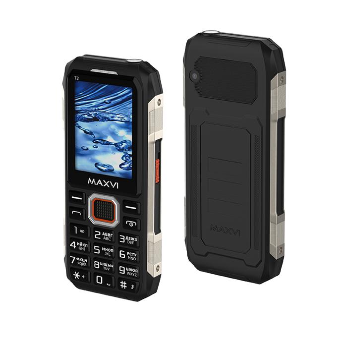 Мобильный телефон MAXVI T5 black 1
