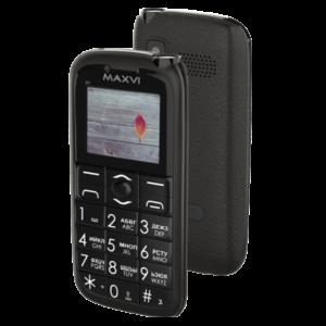 Мобильный телефон MAXVI B7 Black