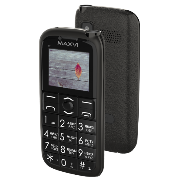 Мобильный телефон MAXVI B7 Black 1